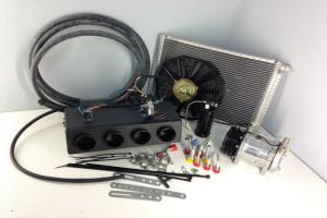 Dedykowane układy klimatyzacji zawierają wszystkie konieczne elementy montażowe...