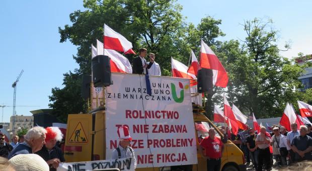 Jurgiel: Część postulatów protestujących rolników nie leży w kompetencjach resortu
