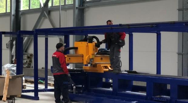 Nowe maszyny i urządzenia w Cynkomecie