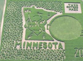 Imponujący labirynt w Twin Cities, w stanie Minnesota; Fot. twincitiesmaze.com