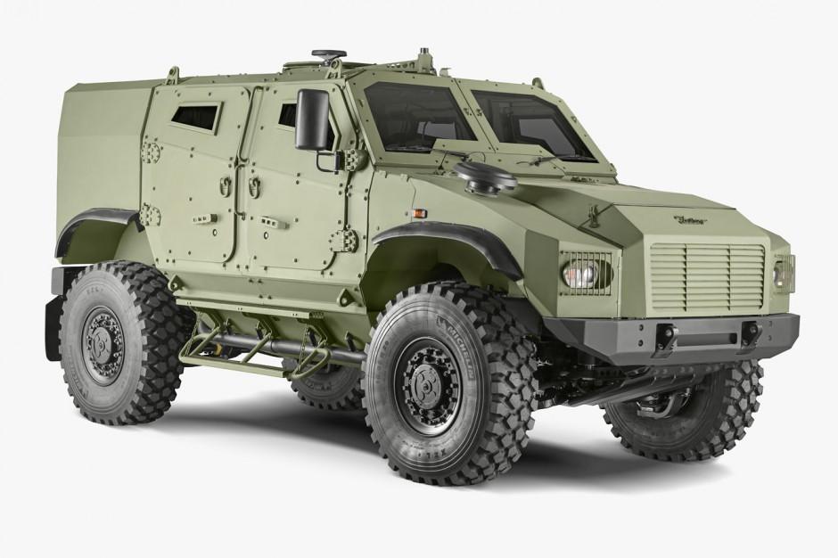 Nowy produkt Zetora to model Gerlach 4x4, fot. materiały prasowe