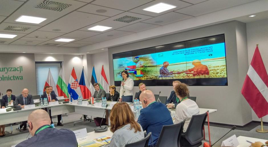 Środkowo-Wschodnioeuropejskie agencje rolnicze wymieniają doświadczenia w Warszawie