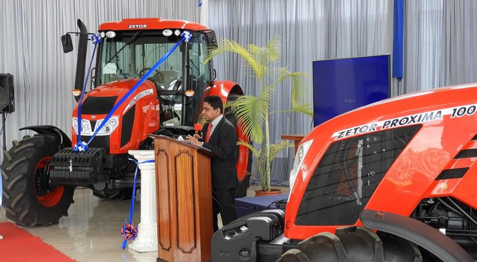 Zetor zaprezentował swoje ciągniki w Kenii