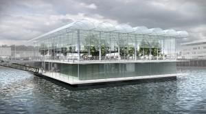 Floating Farm to pierwsze na świecie gospodarstwo na wodzie, fot. www.floatingfarm.nl