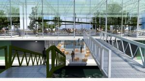 Gospodarstwo bardziej przypomina laboratorium, z pewnością będzie miejscem wielu odwiedzin wycieczek szkolnych, fot. fot. www.floatingfarm.nl