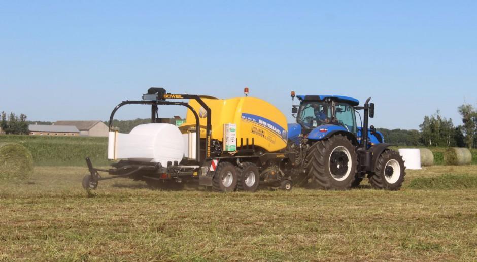 New Holland RB 150 CropCutter - po raz pierwszy w Polsce