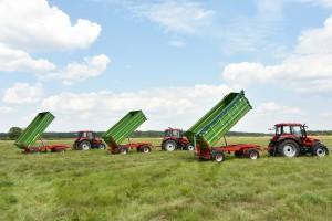 Nieustannie liderem sprzedaży przyczep rolniczych pozostaje Pronar z niemal 50-procentowym udziałem w rynku, fot. materiały prasowe