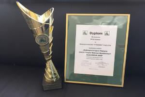 Rozrzutnik Cynkomet N-221/3-4 został w tym roku wyróżniony tytułem Najbezpieczniejszej Maszyny XXVIII Targów Rolniczo-Ogrodniczych w Kościerzynie