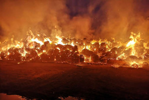Żywioł spowodował straty na 300 tys. zł