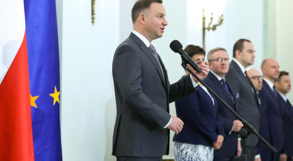 Prezydent do nowego ministra rolnictwa: Bierze pan na siebie wielką odpowiedzialność