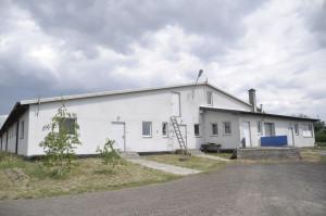 Nowa chlewnia, została zasiedlona w 2015 r. fot. A Królak