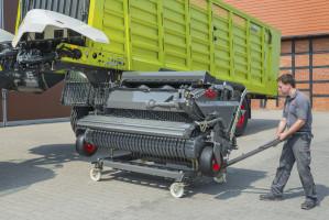 Przyczepy Claas Cargos, dzięki możliwości demontażu zespołu załadowczego, są bardzo dobrze dostosowane do spełniania funkcji przyczep transportowych