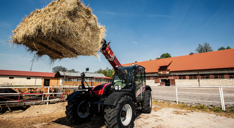 Ładowarki teleskopowe Case IH Farmlift w Michałowie