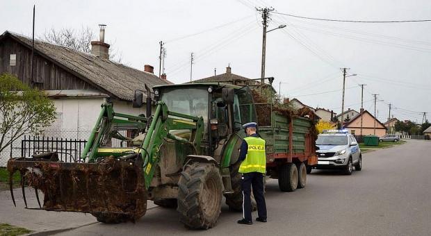 Transportowe wypadki z udziałem ciągników