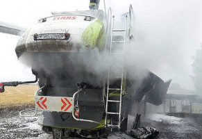 Straty w pożarze mogą przekraczać 1 mln zł