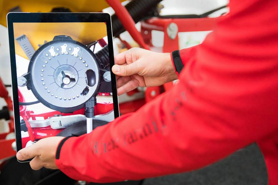 Väderstad Augmented Reality pozwala dosłownie ożywiać treści z nowych prospektów, fot. firmowe