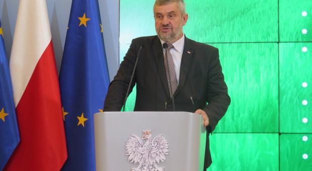 Ardanowski: Podpiszę rozporządzenie ws. umów kontraktacji