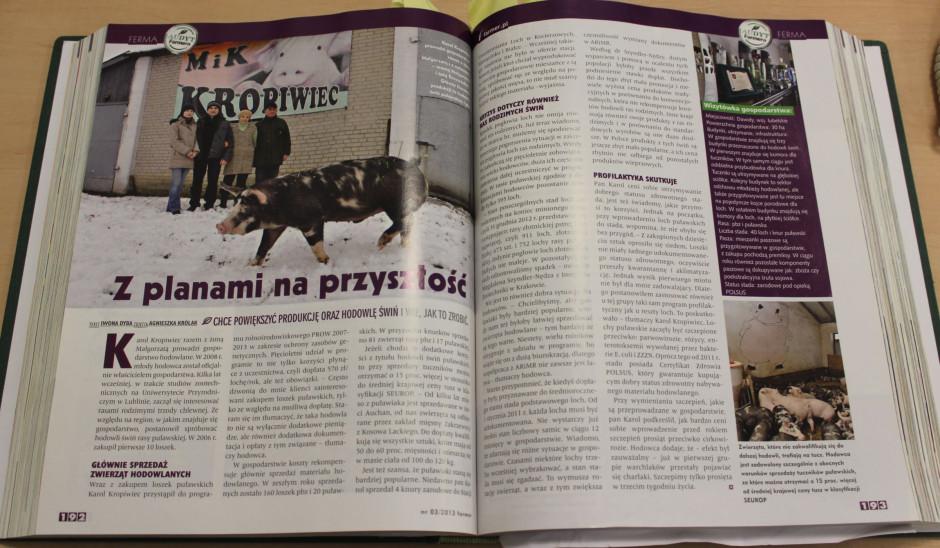 Miesięcznik Farmer, wydanie 03/2013