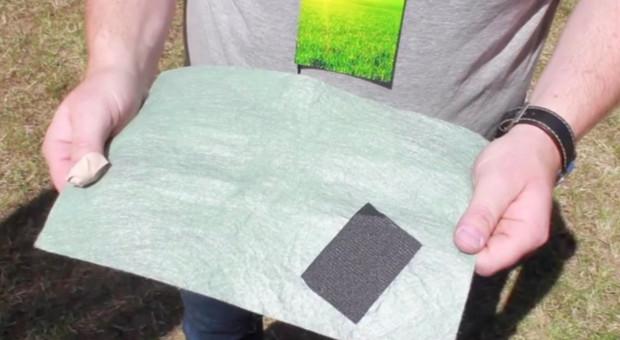 Włóknina do ochrony stogów słomy