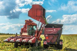 Uniwersalne wozy Metaltech Rapid stwarzają możliwość przeładunku nie tylko nasion zbóż, lecz także kolb kukurydzy i innych ładunków wymagających delikatnego traktowania