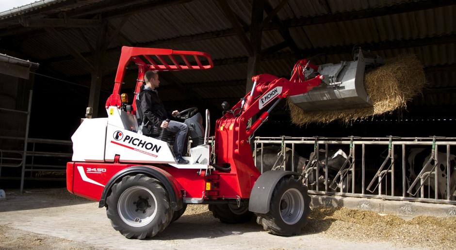 Mecalac Group przejmuje produkcję ładowarek Pichon