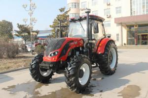Największy produkowany przez  Henan Qianli Machinery ciągnik Chalion QLN-1404 o mocy 140 KM, fot. firmowe