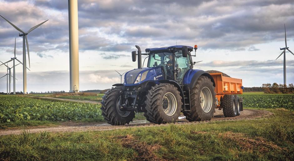 Inteligentny układ hamulcowy w ciągnikach New Holland T6 i T7 AutoCommand