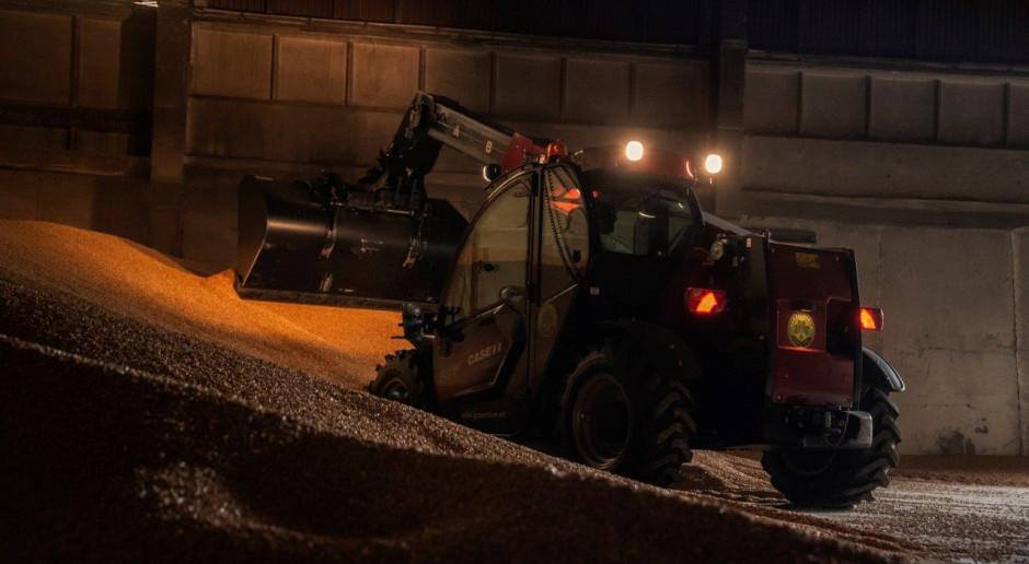 Ładowarka Case IH Farmlift w parku maszynowym kombinatu Kietrz