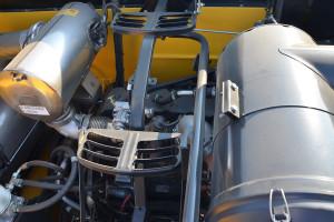 Podstawowa zmiana w serii TC dotyczy zastosowanych w niej silników; kombajny będą teraz napędzane jednostkami spełniającymi normę emisji spalin Stage V, fot. mw