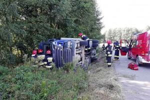 Usuwanie skutków wypadków wypadku trwało kilka godzin.