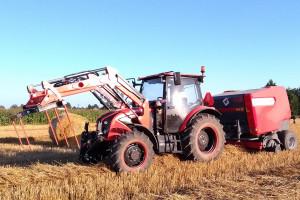 Belowanie po polsku: Ursus C380 i MF Z587/1