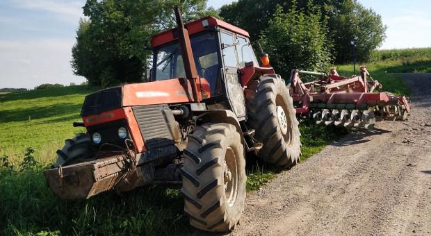 Traktor potrącił nastoletniego rowerzystę