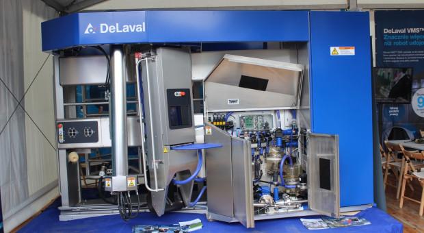 Co oferuje nowy model robota udojowego DeLaval?
