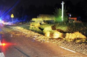 Do wypadku doszło na ruchliwej drodze krajowej