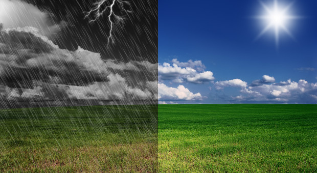 Chłodne poranki, deszcz, poranne mgły? W lipcu to nic niezwykłego