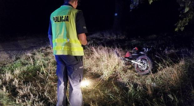 Motocyklista zginął po zderzeniu z traktorem
