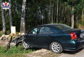 Kierowca samochodu został ranny