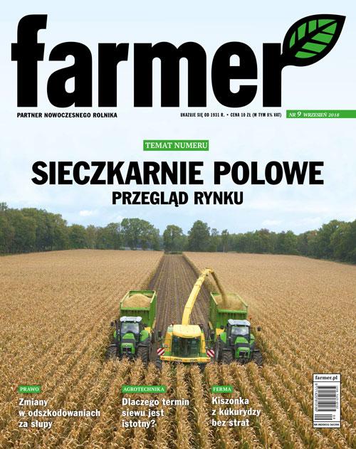 Do kukurydzy i nie tylko - sieczkarnie polowe
