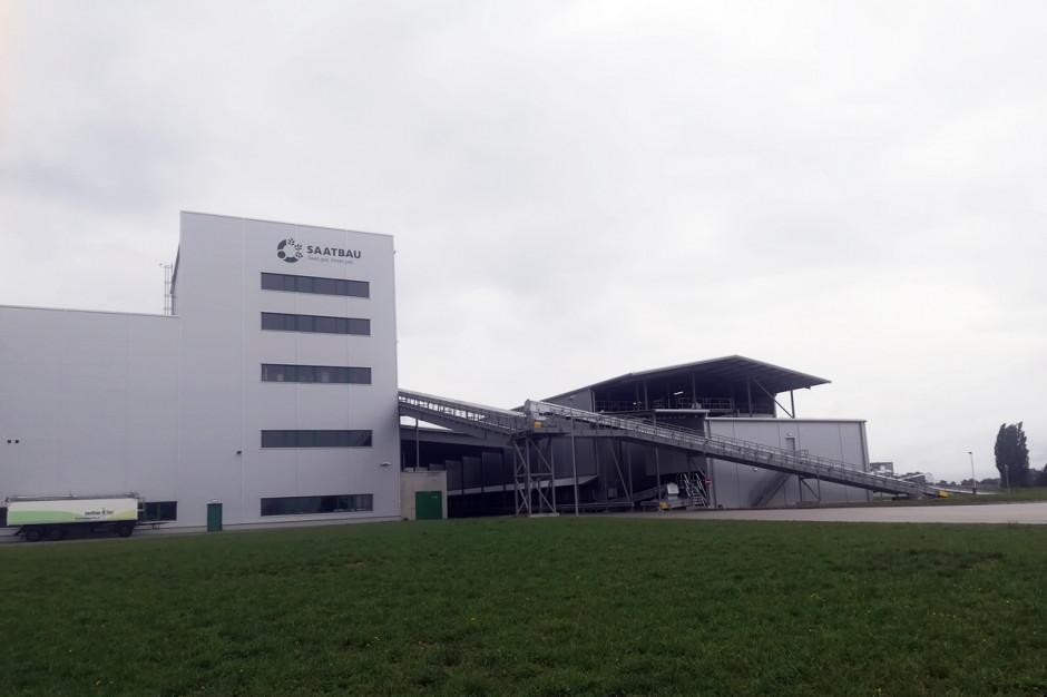 Zakładu Przerobu Kukurydzy w Geinberg; Fot. A. Kobus