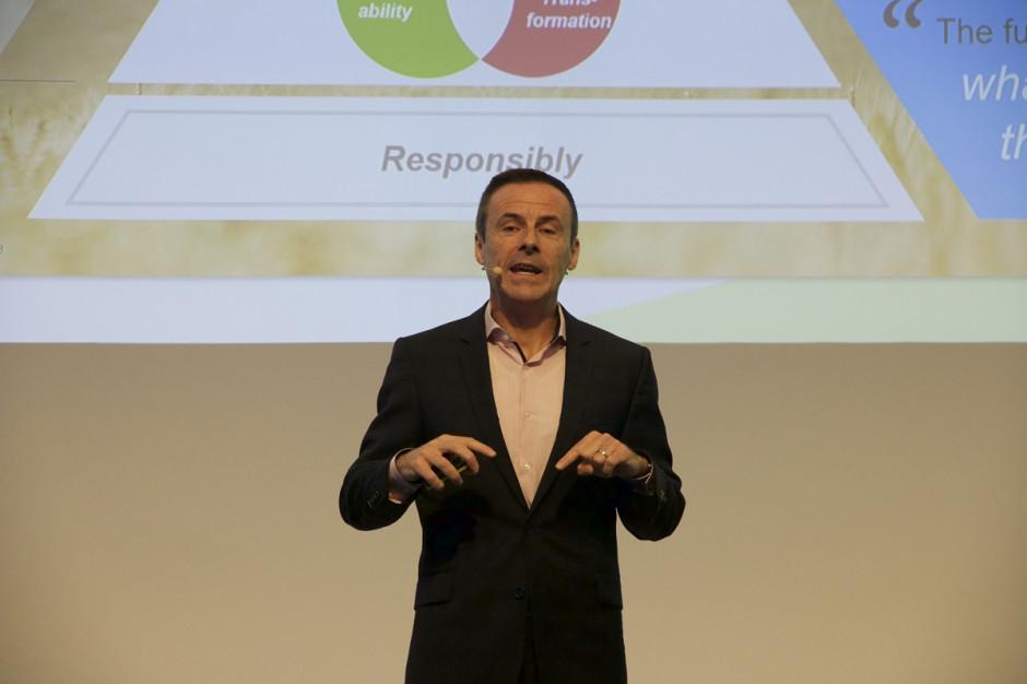 Liam Condon, członek Zarządu Bayer i prezes Crop Science; Fot. A. Kobus