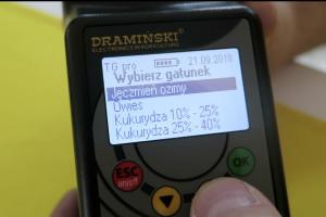 Innowacje od Dramińskiego w badaniu wilgotności ziarna