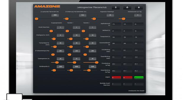 Wybór nowej maszyny z pomocą kalkulatora wydajności Amazone