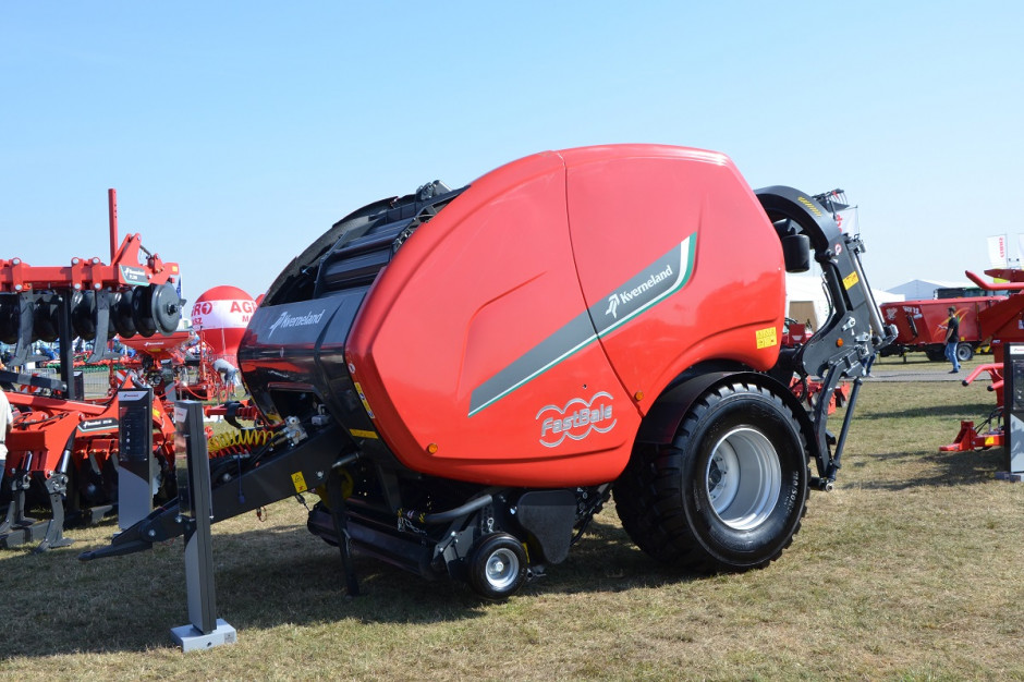 Nowy produkt firmy Kverneland demonstrowany był w Polsce pierwszy raz właśnie podczas wystawy Agro Show, fot. mw