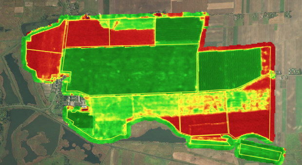Satelitarne wspomaganie rolnictwa