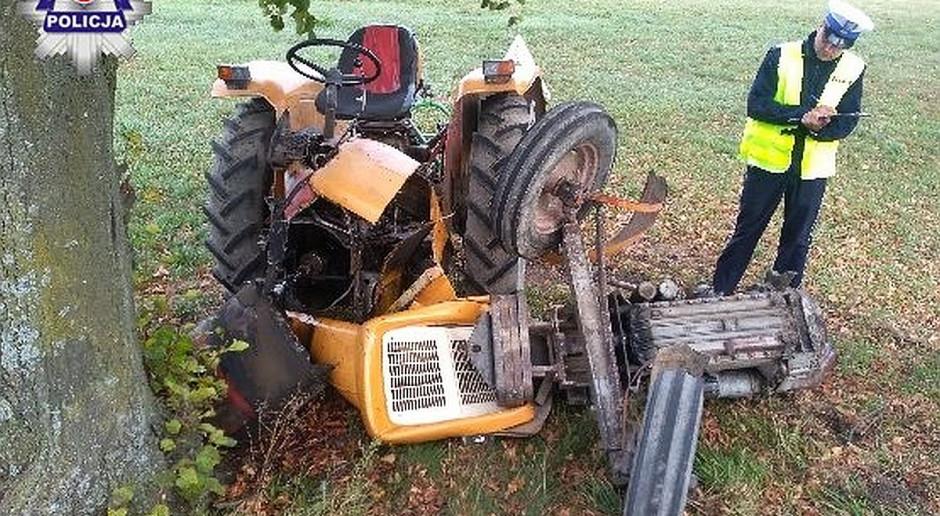 W wypadku zginął traktorzysta