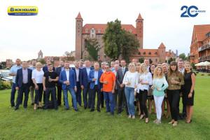Jubileuszowe spotkanie miało miejsce w średniowiecznym zamku krzyżackim w m. Gniew, woj. pomorskie, fot. New Holland
