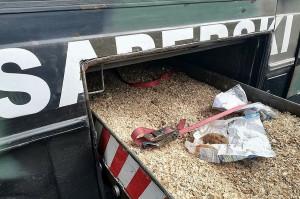 Mieszkaniec powiatu wałbrzyskiego przyniósł na komisariat skorodowany granat