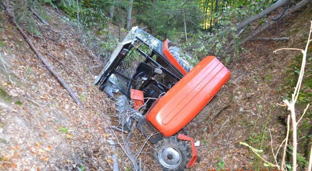 Dwaj traktorzyści zginęli przy wycince drzew