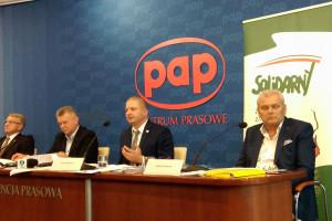 """ZZRZ """"Solidarni"""" zapowiada na 18 października protest w Warszawie"""