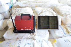Dane z urządzenia do pomiaru jakości paszy NIR trafiają na monitor w ciągniku lub wozie, jednak w przypadku stosowania go mobilnie obraz ten może być wyświetlany na tablecie